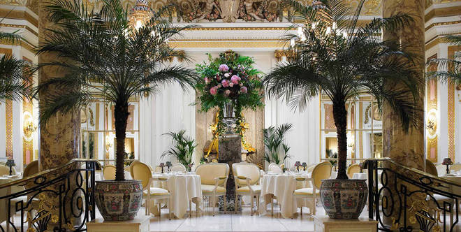Palm Court is at the centre of The Ritz