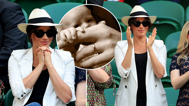 Meghan Markle made a sweet tribute to her son