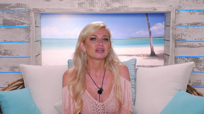 Amy was left heartbroken after being dumped by Curtis