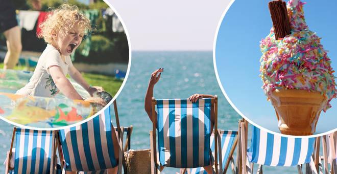 Temperatures look set to hit the high twenties this weekend