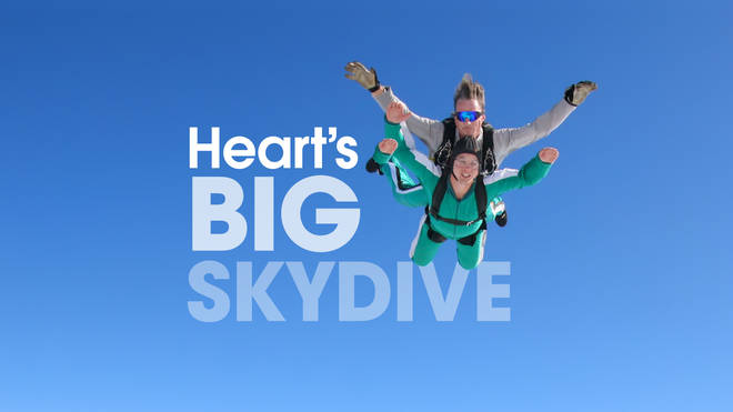 Join our listeners and presenters for a charity skydive
