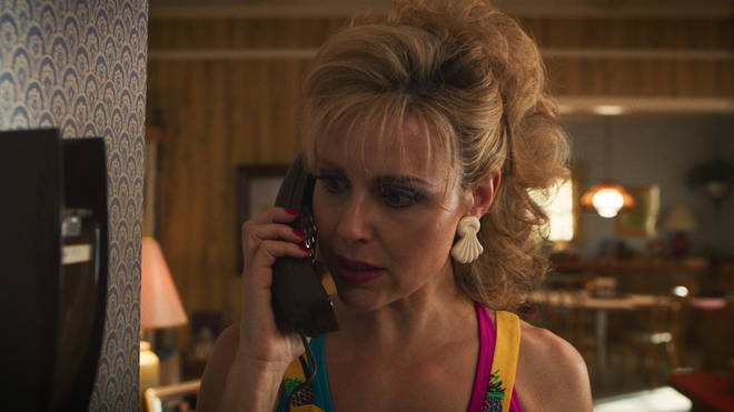 Mrs Wheeler is a key character in Stranger Things series three
