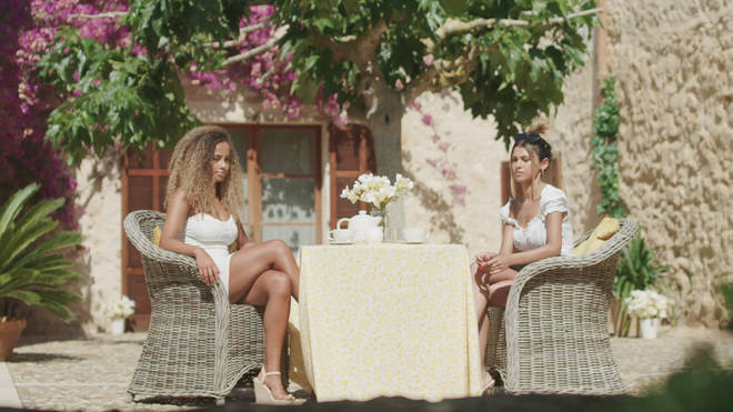 You'll be able to watch the drama unfold in a villa just like the one on TV