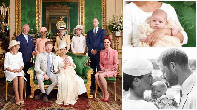 Prince Harry and Meghan Markle share photos of Archie