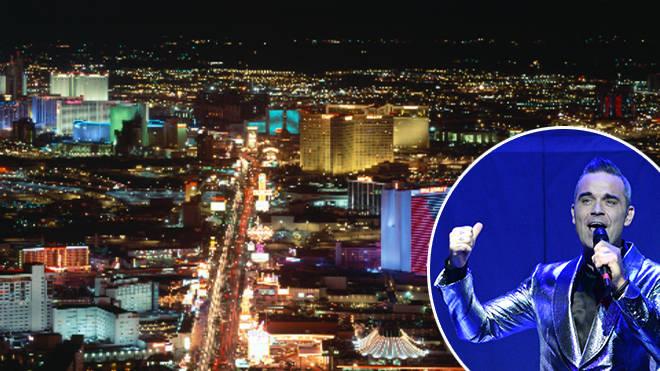 Robbie Williams in talks for 'six-figure' Vegas deal