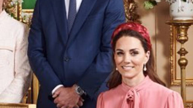 Kate wore pearl earrings to the christening