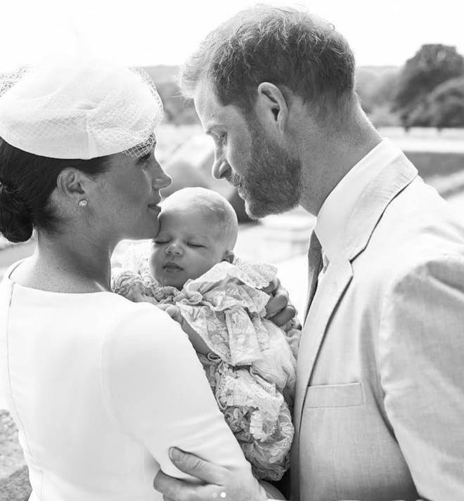 Meghan and Harry decided to keep the christening private