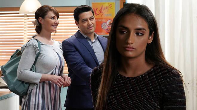 Adam has been forced to choose between Habida and Honey