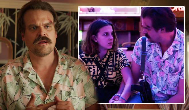 Stranger Things 3 left a question mark over Hopper's fate