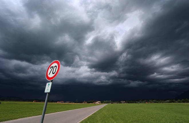 We should expect stormy weather throughout the week