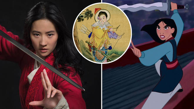 The Disney film Mulan is based on a folk tale