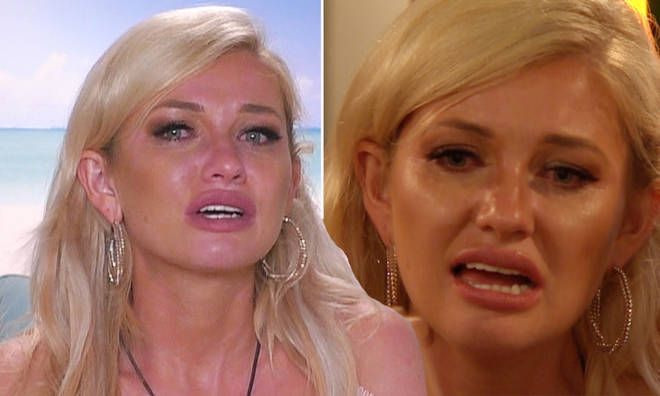 Amy has left Love Island