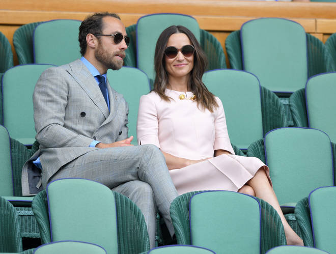 Pippa and James Middleton attended Wimbledon yesterday to watch a spot of tennis