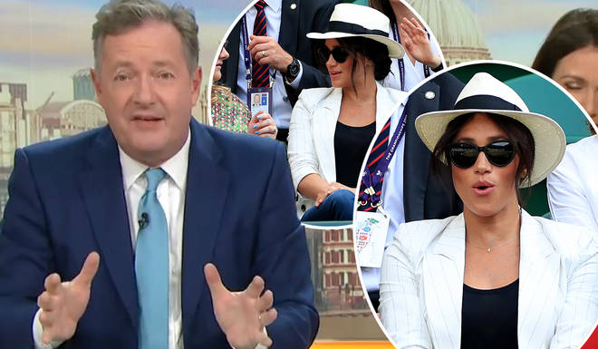 Piers Morgan was left fuming at the reports