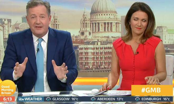 "Piers Morgan branded the decision ""ridiculous"""