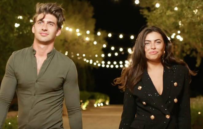 Chris and Francesca will enter the Love Island villa tonight