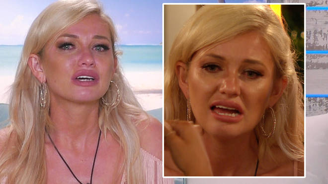 Why did Amy Hart quit Love Island?