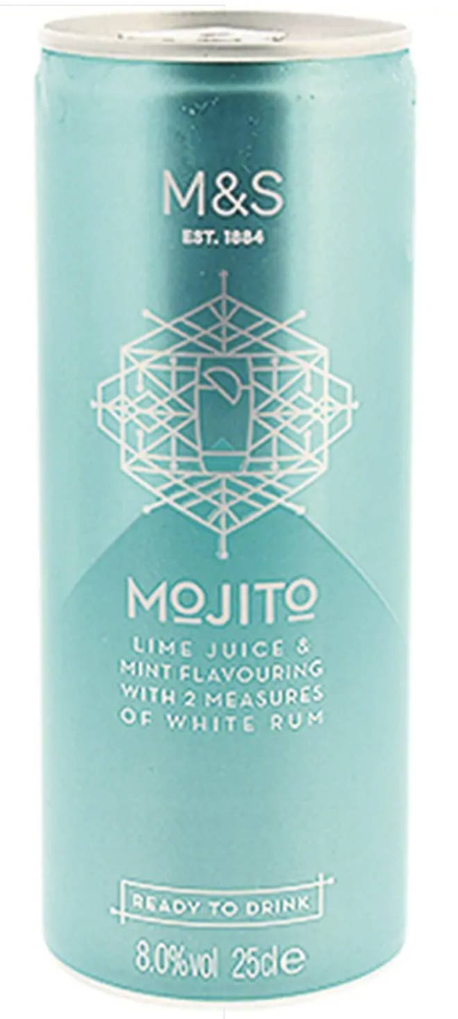 This isn't just any Mojito...this is an M&S Mojito