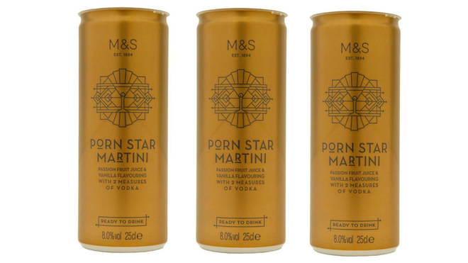M&S do a mean porn star martini for just £2
