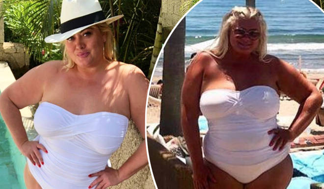 Gemma Collins looked amazing on her holiday