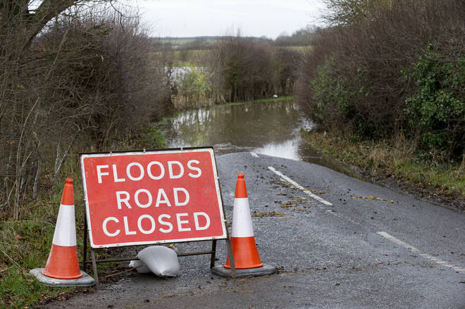 Flood warnings have been issued for some parts of the country (stock image)