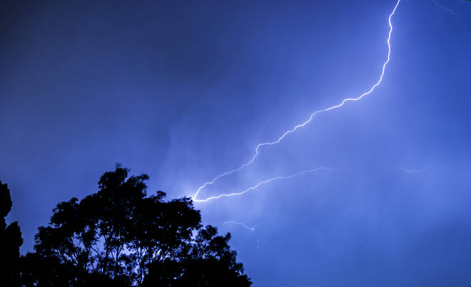 Thunderstorms are expected in some parts of the country this week