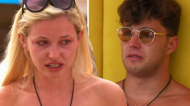 Amy quit Love Island this week