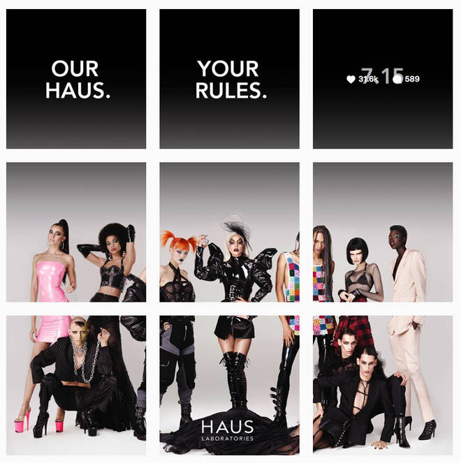 Her @hauslabs Instagram features a teaser