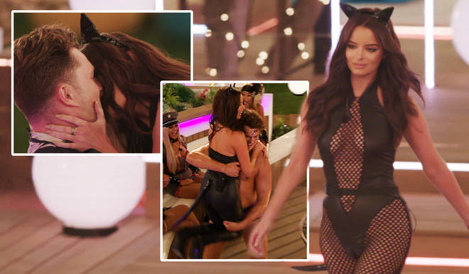 Love Island's Maura and Curtis turn up the heat in tonight's show
