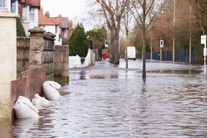 Floods are expected in Northern Ireland and Scotland tonight