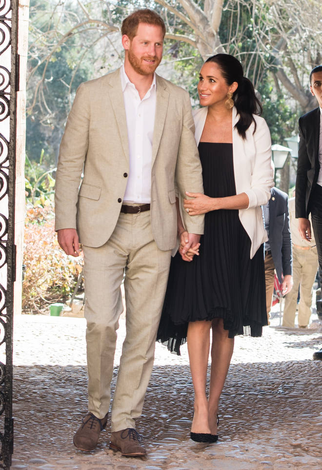 Prince Harry and Meghan visited the Andalusian Gardens in February