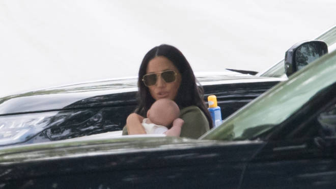 Meghan and Harry's son enjoyed his first public outing