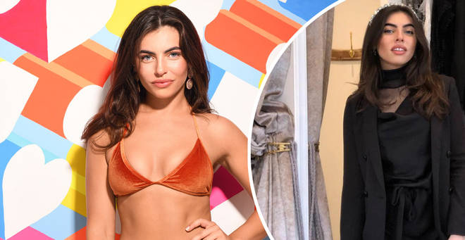 Francesca is the latest bombshell to enter the Love Island villa