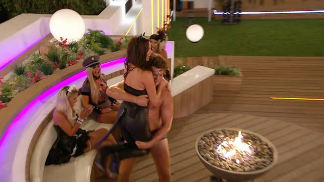 Curtis and Maura shared their first kiss