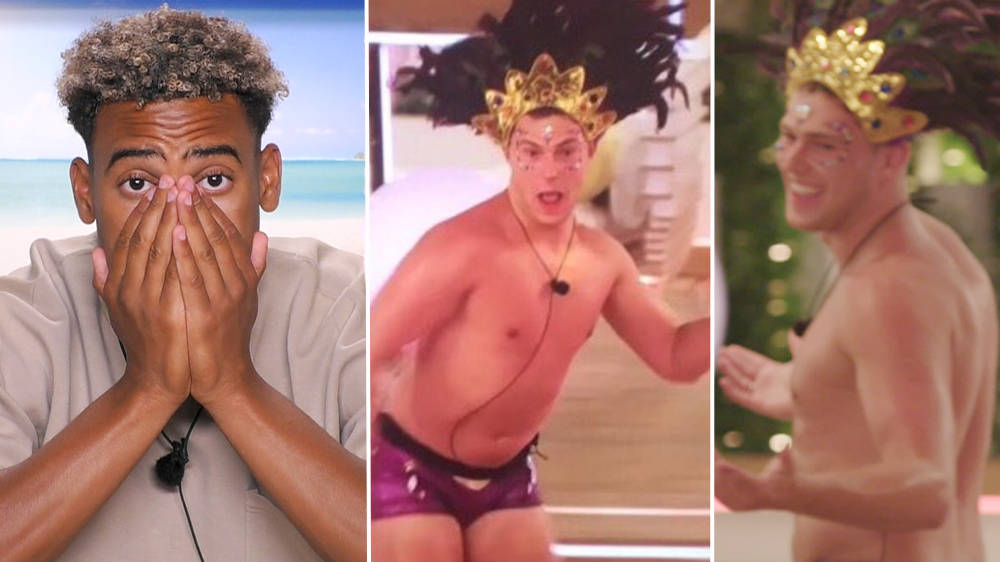 Curtis Pritchard leaves Love Island fans in stitches after the heart rate challenge