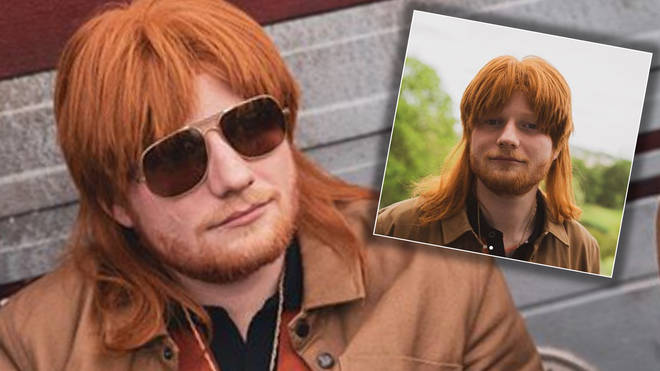 Ed Sheeran showed off a shock new look online