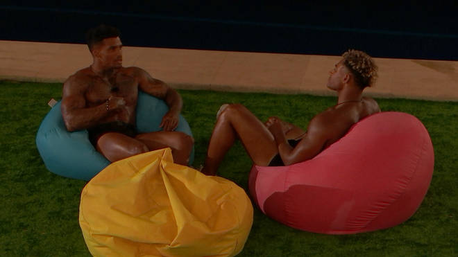 Jordan chats with Michael about his reaction to Amber's dirty dancing