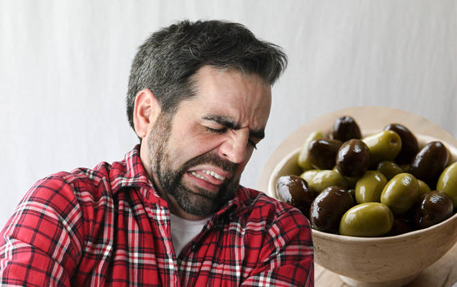 It turns out olives aren't liked by us Brits