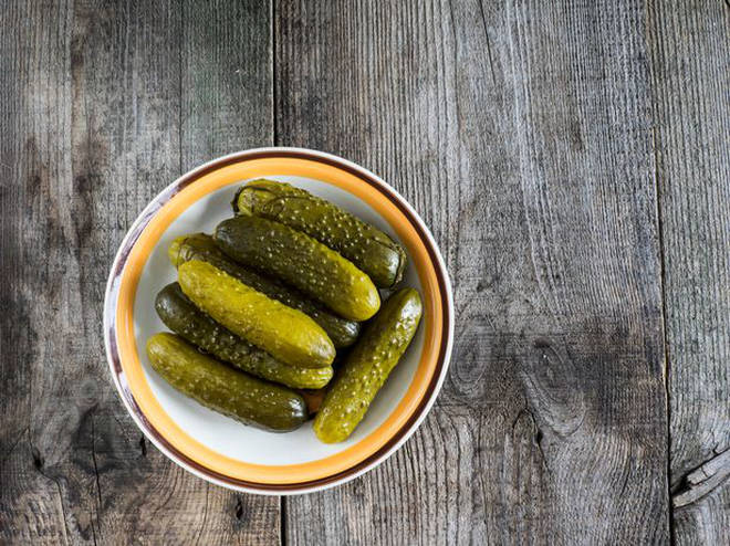 Gherkins came in at second place (which doesn't surprise us at all!