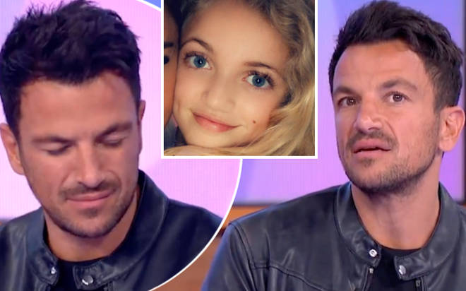 Peter Andre was left horrified when Princess, 12, asked if she would ever be allowed to enter the villa.