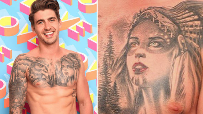 Native American group slams Love Island star Chris Taylor ...