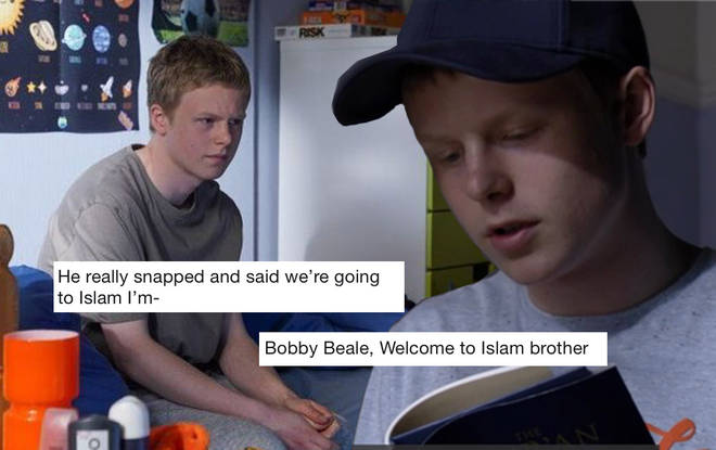 Bobby will convert to Islam after returning to Walford