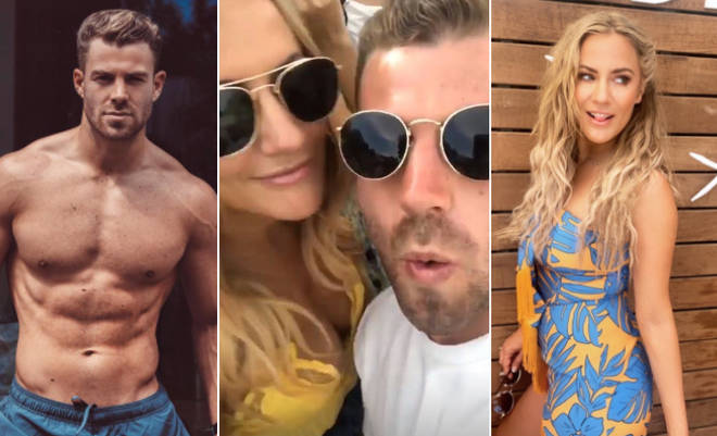 Caroline Flack has been spotted getting cosy with personal trainer Bradley Simmonds, but who else has she dated?