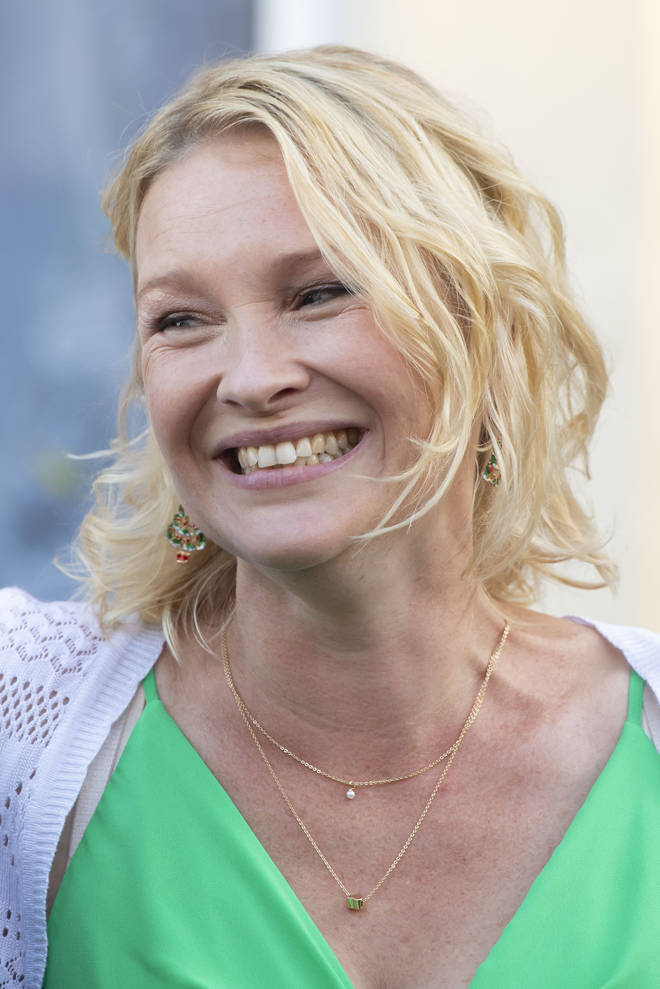 Joanna Page is back in business as Stacey Shipman.