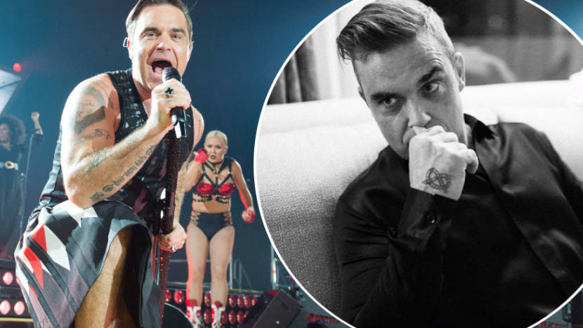 Robbie Williams reveals agoraphobia battle meant he 'couldn't leave the sofa' for THREE years
