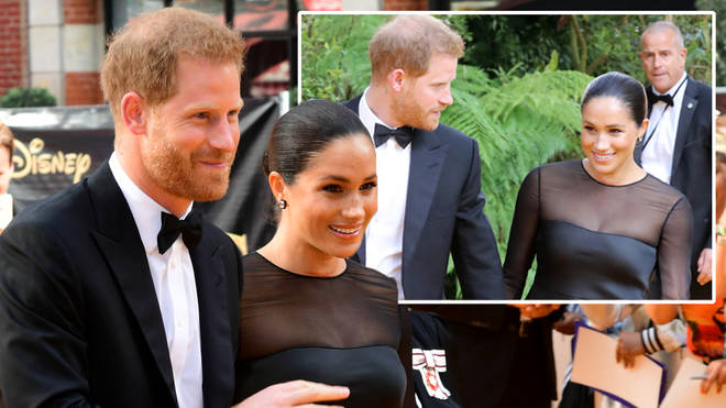 Meghan Markle and Prince Harry looked amazing for The Lion King premiere