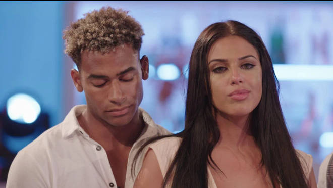 Amber and Jordan narrowly avoided being dumped