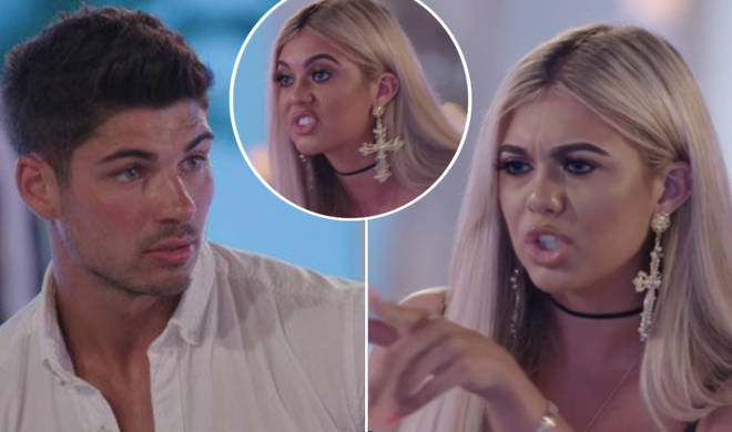 Anton Danyluk and Belle Hassan have called in quits after a furious argument.