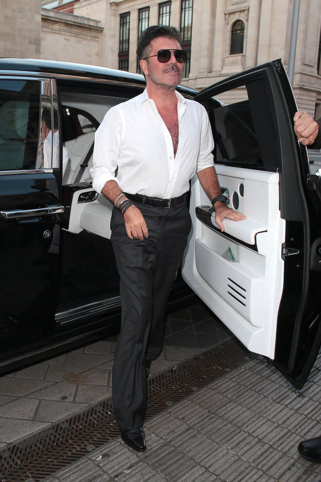 Simon Cowell credits his son Eric's healthy diet as his inspiration.