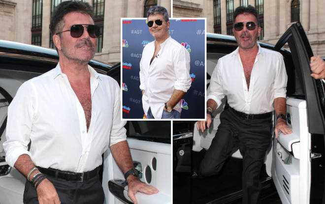 Simon Cowell has lost almost two stone since switching to a vegan diet.